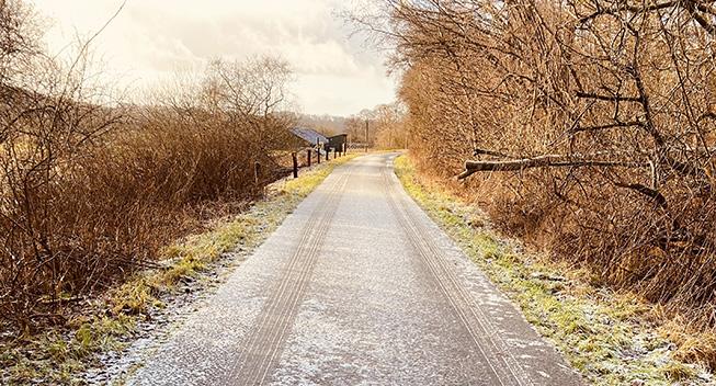 Gravel ride: En vinterdag på grus i Vejle Ådal