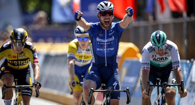 Cavendish stryger til tops i Belgien