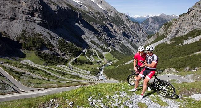 Bormio-Cykelhotel midt mellem Italiens berømteste Alpetoppe