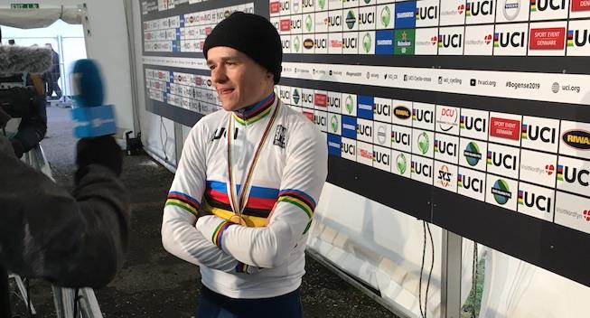 U23-verdensmester i cyklecross vandt ungdomsudgaven af Paris-Roubaix