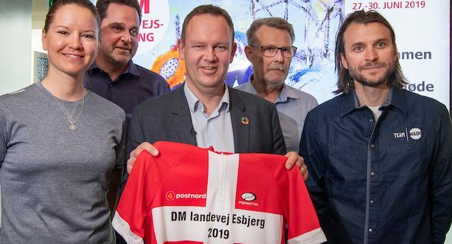 DM i landevejscykling skal afgøres i hjertet af Esbjerg
