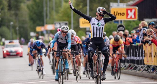 Niklas Larsen vinder Lillehammer GP