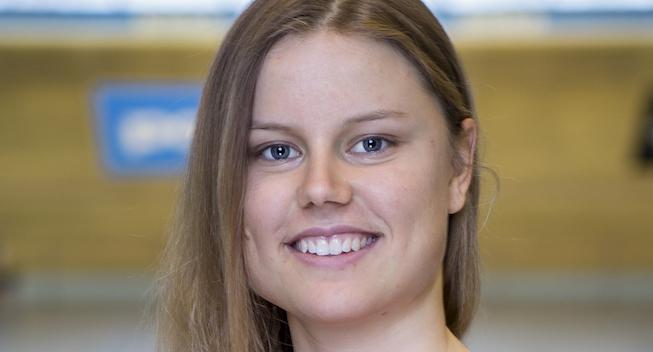 Amalie Dideriksen i vildt styrt halvanden omgang før stregen