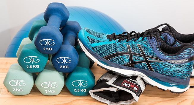 Bliv fit med et fitnessrum i hjemmet