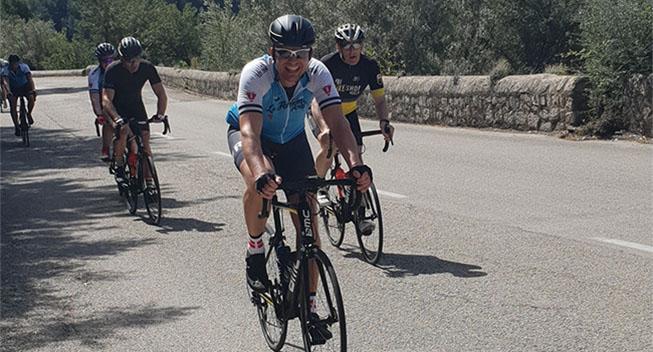 Kræftramte danskere cykler over 7.000 kilometer