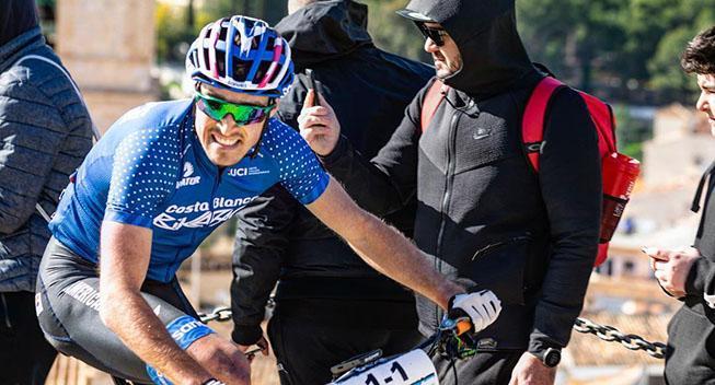 Sebastian Fini tog tredje UCI-sejr i træk