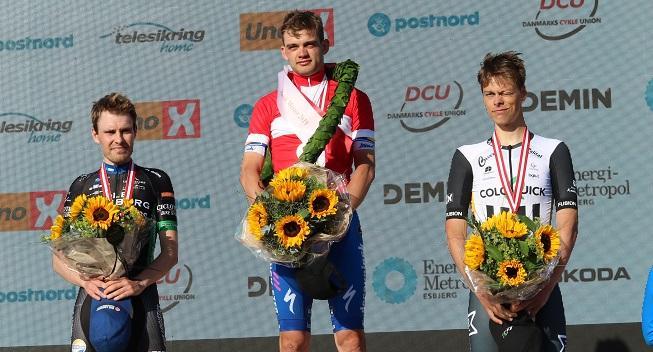 Kasper Asgreen suveræn dansk mester i enkeltstart