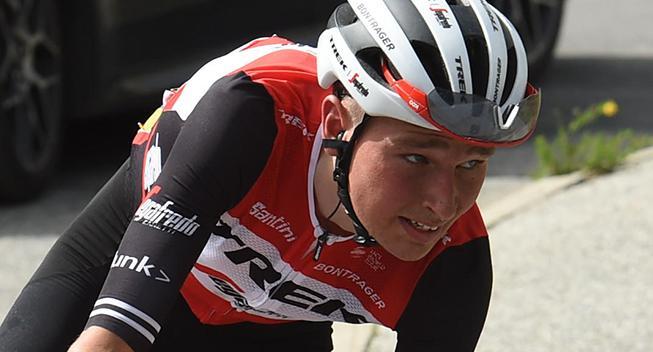 Niklas Eg til start i Vueltaen