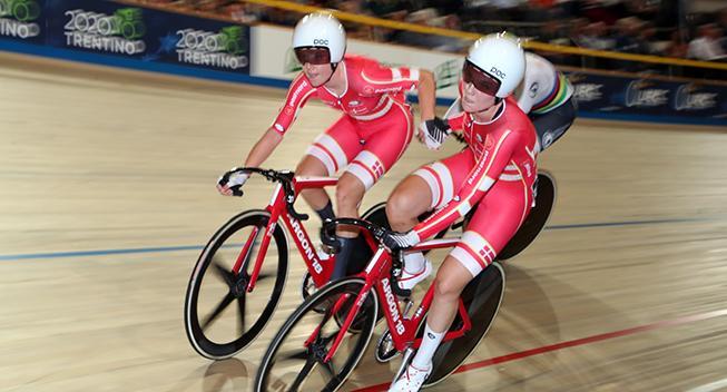 Trods to styrt - Danmark nummer fem i parløb