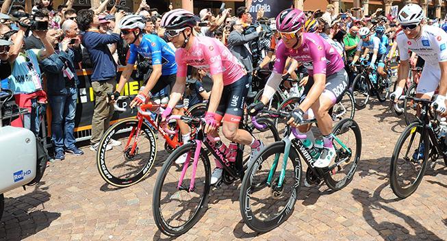 Giro-ruten offentliggjort: Afsluttes med enkeltstart i Milano