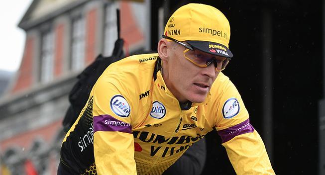 Robert Gesink er tilbage på cyklen efter styrt i Liège-Bastogne-Liège