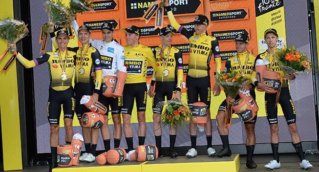 Starttiderne til holdtidskørslen (1. etape) i Vueltaen