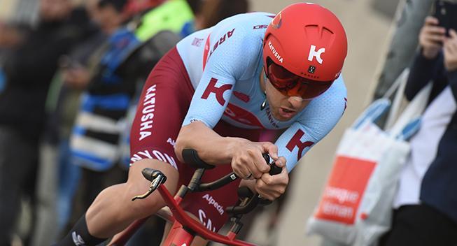 Alex Dowsett utilfreds efter togkaos i Tour of Britain