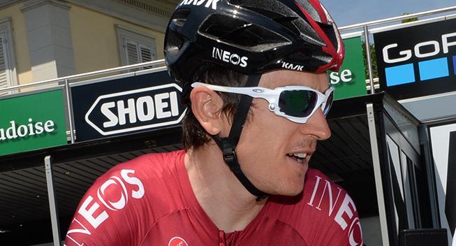 Video: Geraint Thomas tilbage på cyklen