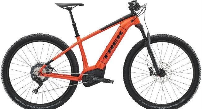 Tema om elcykler: Trek Powerfly
