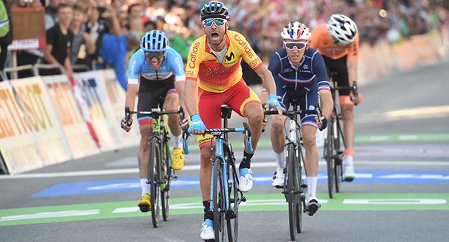 Valverde motiveret inden VM efter flot Vuelta