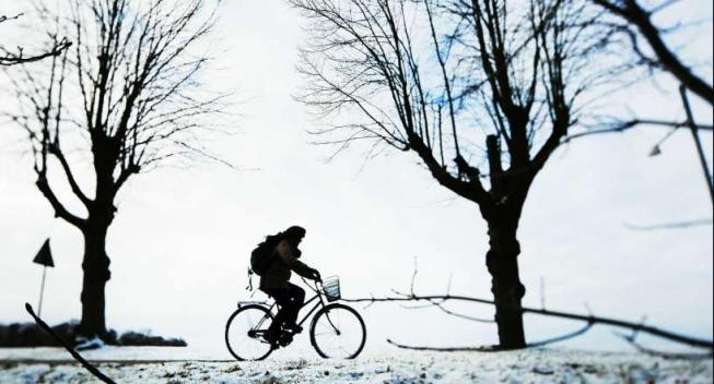 Share The Road: Vis særligt hensyn til hinanden i det glatte vintervejr