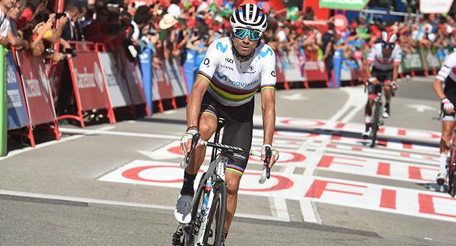 Valverde efter styrt: Ubehag i håndledet