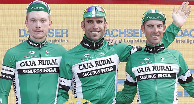 Caja Rural-Seguros udtager formstærkt Vuelta-hold
