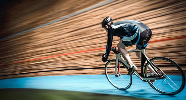 Prøv banecykling til Bike Blowout messen